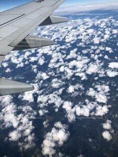 空,雪,屋外,晴れ,晴天,飛行機,飛ぶ,ふわふわ,癒し,空中,天気,フライト,空の旅