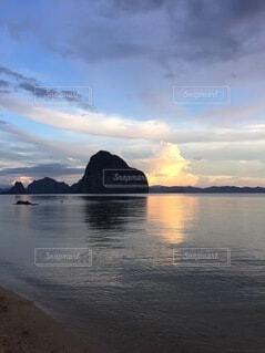 自然,風景,海,湖,海外,ビーチ,雲,山,癒し,エルニド