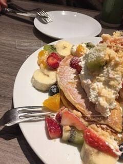 フルーツパンケーキの写真・画像素材[4940239]