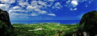 海,青空,沖縄,大石林山