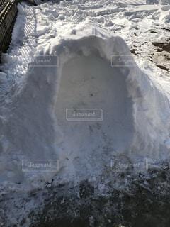自然,雪,屋外,洞窟,覆う,かまくら 雪