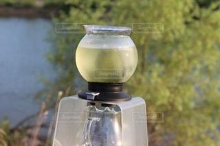 飲み物,緑茶,ガラス容器,水出し,冷たいお茶