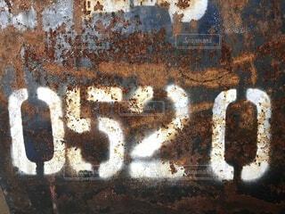 表示,数字,サビ,ワイルド,錆びた鉄,0520