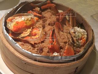 旅行,台湾,グルメ,台湾料理,蟹おこわ,欣葉,紅蟳米糕