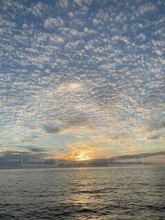 自然,風景,海,空,屋外,湖,ビーチ,雲,水面,釣り,サンセット,思い出,1人旅