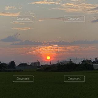 太陽,雲,夕暮れ