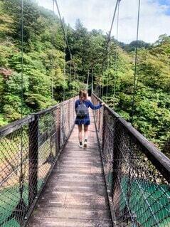つり橋の写真・画像素材[4920068]