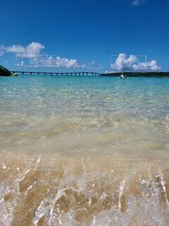 風景,海,屋外,ビーチ,水面,日中