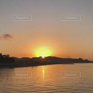 自然,風景,朝日,癒し,祈り,日の出,朝陽,朝の海,REBORN,浄化の時