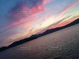 自然,風景,海,空,夜,屋外,湖,太陽,ビーチ,雲,夕暮れ,波打ち際,水面,海岸,田舎,山,日の出,瀬戸内海,瀬戸内,眺め