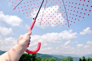 空,雨,傘,景色,観光