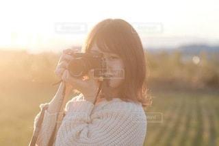 ファインダー越しの私の世界の写真・画像素材[3386917]