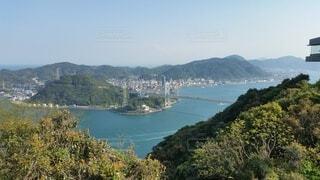 自然,風景,海,空,橋,屋外,山,景色,眺め,日中,海峡