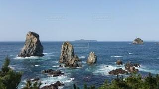 自然,風景,海,空,屋外,海岸,崖,岬,湾,海洋地形