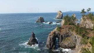 自然,風景,海,空,屋外,岩,崖,岬,海洋地形