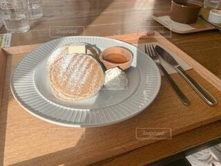 はちみつパンケーキの写真・画像素材[4905792]