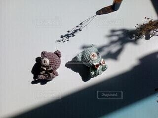 インテリア,リビング,かわいい,影,女子,ぬいぐるみ,おもちゃ,雑貨,こども,くま,ベビー,あみぐるみ,編み物,おしゃれ,かぎ針編み,くすみカラー