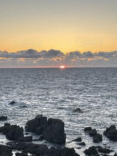 風景,海,空,屋外,湖,太陽,ビーチ,雲,夕暮れ,水面