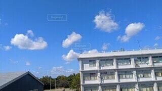 空,白,窓,日常,学校