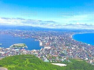 自然,風景,海,雲,北海道,景色,大地