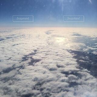 自然,空,雪,屋外,雲,波,水面