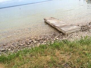 自然,風景,空,屋外,湖,ビーチ,水面,草
