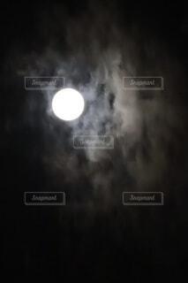 自然,風景,空,夜,夜空,月,満月,スーパームーン