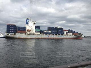 風景,空,屋外,雲,ボート,船,水面,港,貨物船,貨物,車両,水上バイク
