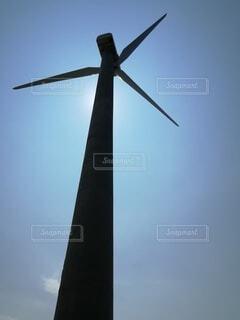 空,屋外,風車,景観,風力タービン
