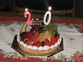 祝㊗️‼︎二十歳の誕生日🥳の写真・画像素材[4935270]