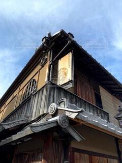 カフェ,空,建物,屋外,京都,雲,散歩,窓,景色,屋根,和風,建築,日本文化,二年坂