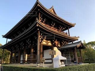 空,建物,屋外,京都,神社,散歩,観光,旅行,寺院,寺,歴史,建築,観光名所,日本文化