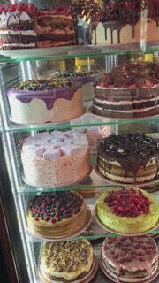 食べ物,スイーツ,カフェ,ケーキ,食事,フード,休日,ロシア,モスクワ,しあわせ,飲食,ケーキ屋さん
