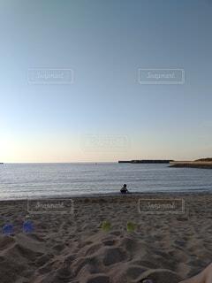 自然,空,屋外,湖,水面,海岸