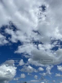 空と雲の写真・画像素材[4936673]