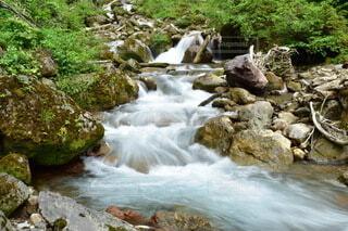 自然,風景,夏,屋外,綺麗,川,水面,山,滝,河原,岩,運河,草木,気持ちいい,イオン,クリーク,ストリーム,カスケード,涼快