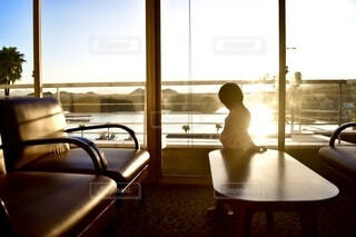空,キッズ,屋内,朝日,子供,旅行,家具,明るい,寝起き