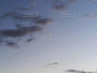 自然,風景,空,夜空,屋外,雲,月