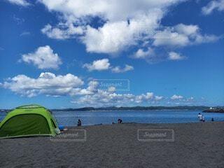 ビーチにての写真・画像素材[4917348]