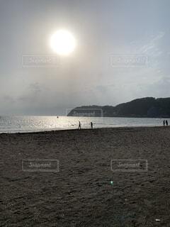 自然,海,空,屋外,太陽,ビーチ,雲,水面,海岸,地面,逗子