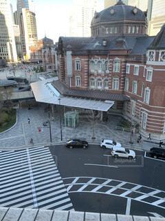 建物,屋外,東京,車,レトロ,都会,通り,古風,車両,おしゃれ,陸上車両
