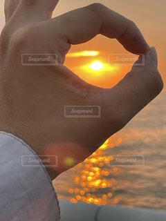 夕日,夕方,オレンジ,夏の終わり
