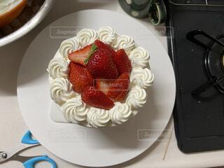 スイーツ,ケーキ,家,苺,誕生日,手作り,特別