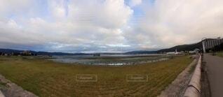 自然,風景,空,屋外,湖,ビーチ,雲,水面,草