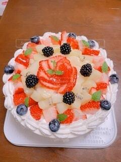 フルーツケーキの写真・画像素材[4922002]