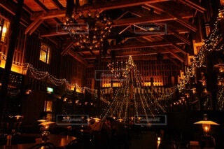 カフェ,建物,屋外,ランタン,北海道,イルミネーション,旅行,クリスマス,小樽,明るい,クリスマス ツリー
