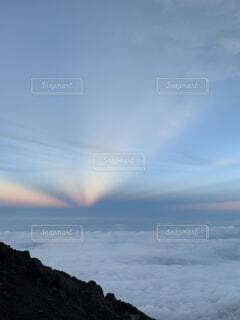自然,屋外,雲,虹,山