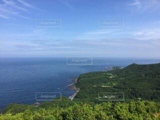 自然,風景,海,空,屋外,緑,雲,水面,海岸,山,草,太平洋,眺め