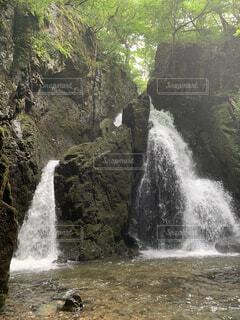 不動滝の写真・画像素材[4928491]