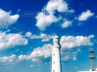 空,屋外,雲,タワー,灯台